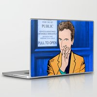 doctor who Laptop & iPad Skins featuring Doctor Who by Alli Vanes