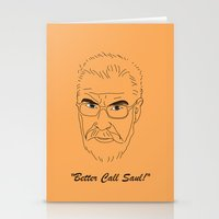 better call saul Stationery Cards featuring Better Call Saul Berenson by FENNIKEL