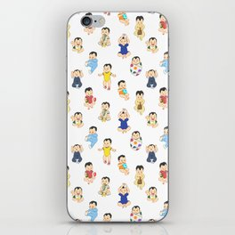 lots of babies! iPhone Skin