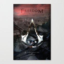 Assassin's Creed 3: Connor, Master Assassin of the American Revolutionary War Canvas Print