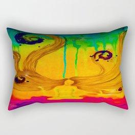 Cloud Budda Inverse Rectangular Pillow