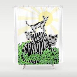 Happy family  Shower Curtain