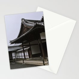 Temple at Kinkakuji in Kyoto, Japan Stationery Cards