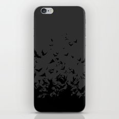 An Unkindness of Ravens (Grey) iPhone Skin