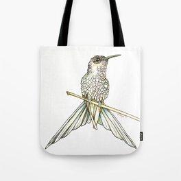 Swallowtail Hummingbird Tote Bag