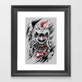Wild M Framed Art Print