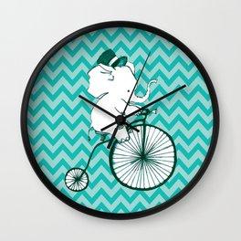 Elegant Elephant Wall Clock