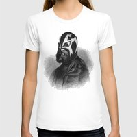 wrestling T-shirts featuring WRESTLING MASK 9 by DIVIDUS