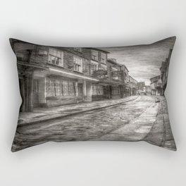 Medieval Shambles York Vintage Rectangular Pillow