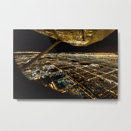 LA Views Metal Print