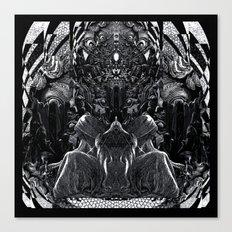 3:33 - Bicameral Brain  Canvas Print
