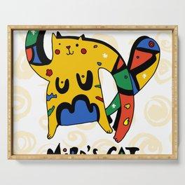 Joan Miro's Cat Serving Tray