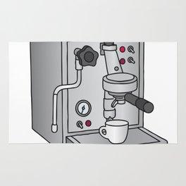 Espresso machine filter-holder Barista Rug