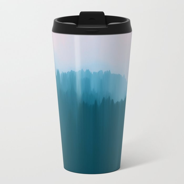 Who Knows Where the Time Goes? Metal Travel Mug