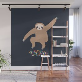 Sloth Gravity Wall Mural