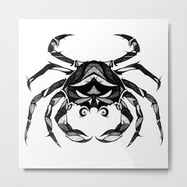 Signs of the Zodiac - Cancer Metal Print