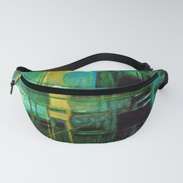 A Journey Into Abstract Thought No.1j by Kathy Morton Stanion Fanny Pack