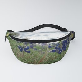 Blue Bonnet Madness Fanny Pack