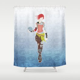 Borderlands 2 - Lilith Shower Curtain