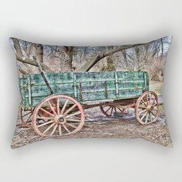Nothing but a wagon Rectangular Pillow