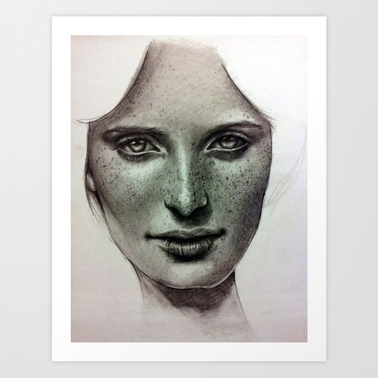 Sweet Caroline Art Print