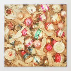 Box of Baubles Canvas Print