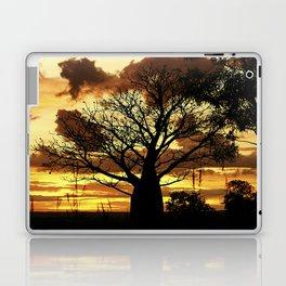 Coffee Coloured sunset thru Boab Laptop & iPad Skin
