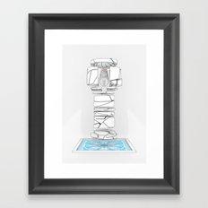 BIOLITH Framed Art Print