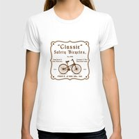 bicycles T-shirts featuring Classic Safety Bicycles by eqbal