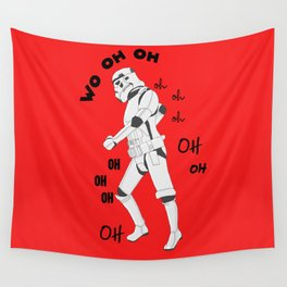 All the single stormtroopers Wall Tapestry
