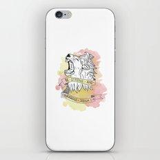 Strength & Courage iPhone Skin