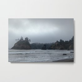 Moody Islands Metal Print