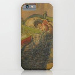 Carl Larsson - Le soi disant malade (El supuesto enfermo) iPhone Case