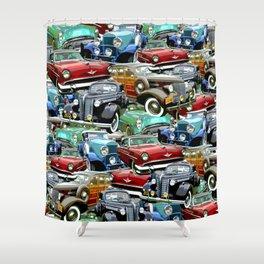 Classic Cars (K.T.B.) Shower Curtain