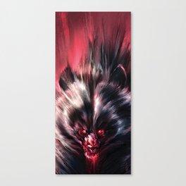 Beware the Werebear! Canvas Print
