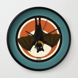 Batty wing Wall Clock