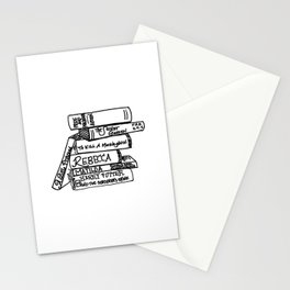 Favorite Books Stationery Cards