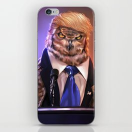 Election 2016 - Donowl Trump iPhone Skin