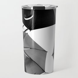 Black Umbrellas Travel Mug
