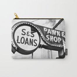 Old pawn shop sign Carry-All Pouch