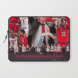 Texas Tech Men's Basketball 2018-2019 Commemorative Laptop Sleeve