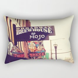 Broadway Brewhouse & Mojo featuring Betty Boots Rectangular Pillow