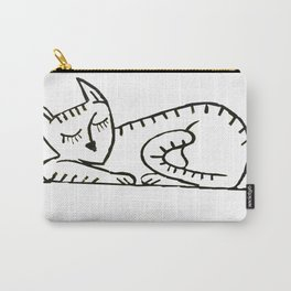 Graffiti. Sleeping Cat II Carry-All Pouch