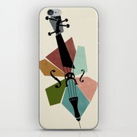 cello iPhone & iPod Skins featuring Bach - Cello Suites by Prelude Posters