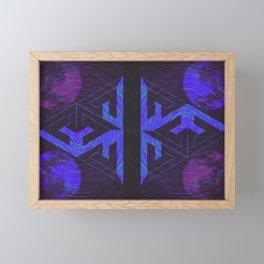 Flying V Framed Mini Art Print