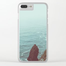 Faded Beach Clear iPhone Case