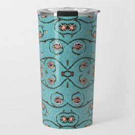 Romantic Florals and Vines Travel Mug