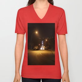 Back To The Future Cyclist Unisex V-Neck
