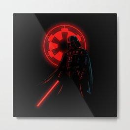 Dark Vader Metal Print