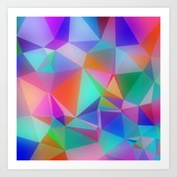 stained glass Art Prints featuring Stained Glass by Stuff.